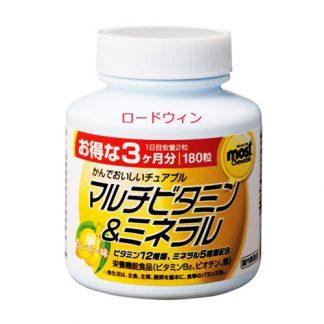 Orihiro Мультивитамины и минералы со вкусом манго
