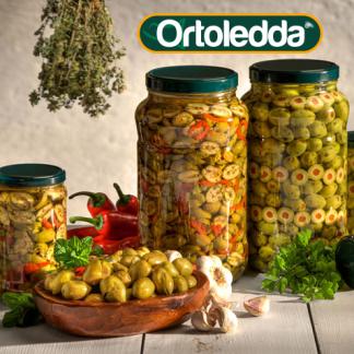 Сицилийские овощи в масле